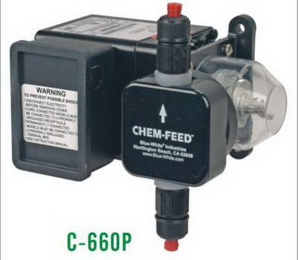 蓝白投药泵C660P大